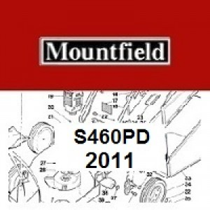 Mountfield S460PD Spares Parts Diagrams S460 PD 2011