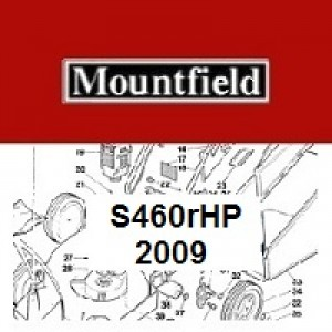 Mountfield S460RHP Spares Parts Diagrams S460R HP 2009