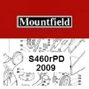 Mountfield S460RPD Spares Parts Diagrams S460R PD 2009
