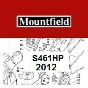 Mountfield S461HP Spares Parts Diagrams S461HP 2012