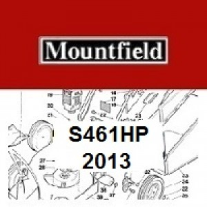 Mountfield S461HP Spares Parts Diagrams S461 HP 2013
