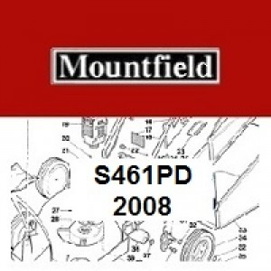 Mountfield S461PD Spares Parts Diagrams S461 PD 2008