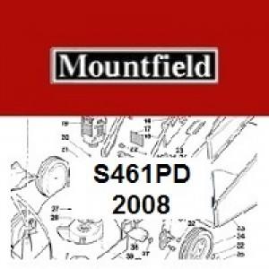 Mountfield S461PD Spares Parts Diagrams S461 PD 2008