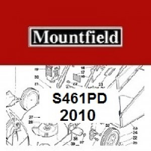 Mountfield S461PD Spares Parts Diagrams S461 PD 2010