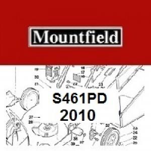 Mountfield S461PD Spares Parts Diagrams S461 PD 2010