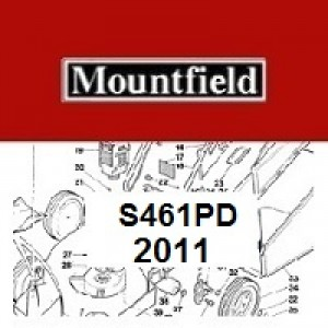 Mountfield S461PD Spares Parts Diagrams S461 PD 2011