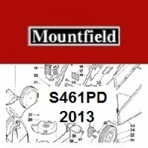 Mountfield S461PD Spares Parts Diagrams S461 PD 2013