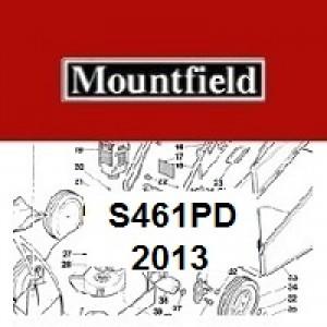Mountfield S461PD Spares Parts Diagrams S461 PD 2013