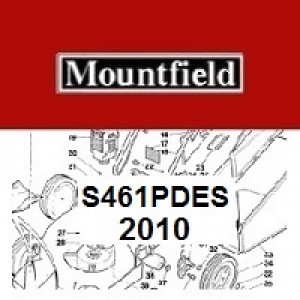 Mountfield S461PDES Spares Parts Diagrams S461 PDES 2010