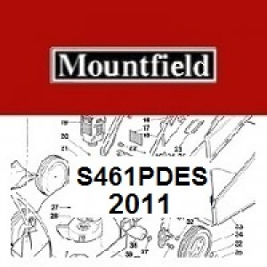 Mountfield S461PDES Spares Parts Diagrams S461 PD ES 2011