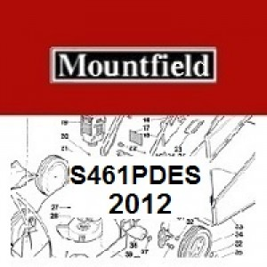 Mountfield S461PDES Spares Parts Diagrams S461PDES 2012