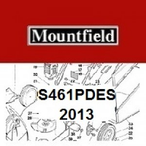 Mountfield S461PDES Spares Parts Diagrams S461 PDES 2013