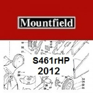 Mountfield S461RHP Spares Parts Diagrams S461RHP 2012