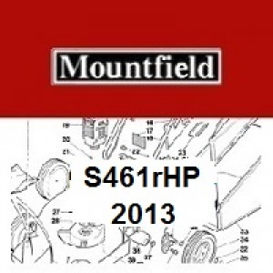 Mountfield S461RHP Spares Parts Diagrams S461 RHP 2013