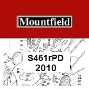 Mountfield S461RPD Spares Parts Diagrams S461R PD 2010