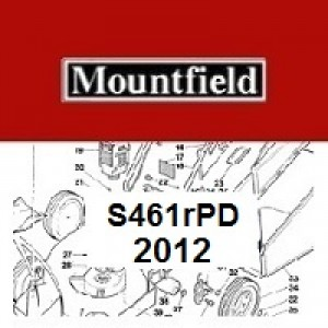 Mountfield S461RPD Spares Parts Diagrams S461RPD 2012