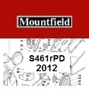 Mountfield S461RPD Spares Parts Diagrams S461RPD 2012