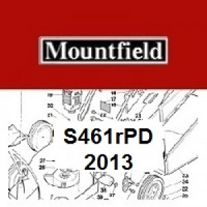 Mountfield S461RPD Spares Parts Diagrams S461 RPD 2013