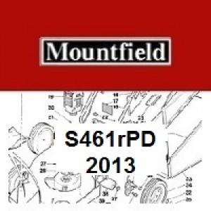 Mountfield S461RPD Spares Parts Diagrams S461 RPD 2013
