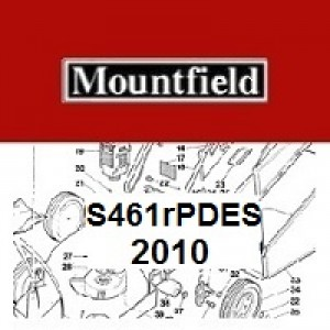 Mountfield S461RPDES Spares Parts Diagrams S461R PD ES 2010
