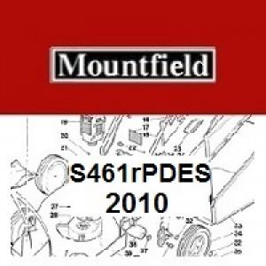 Mountfield S461RPDES Spares Parts Diagrams S461R PD ES 2010