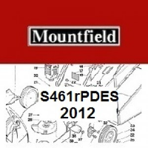 Mountfield S461RPDES Spares Parts Diagrams S461RPDES 2012