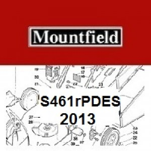 Mountfield S461RPDES Spares Parts Diagrams S461 RPDES 2013