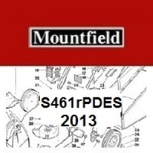 Mountfield S461RPDES Spares Parts Diagrams S461 RPDES 2013