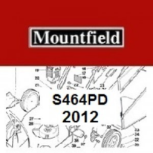 Mountfield S464PD Spares Parts Diagrams S464PD 2012