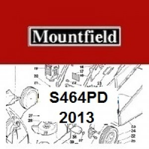 Mountfield S464PD Spares Parts Diagrams S464PD 2013