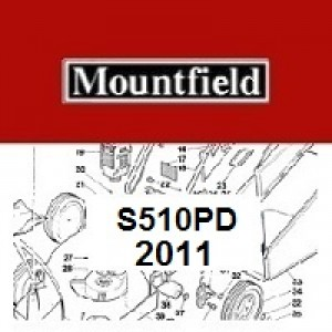 Mountfield S510PD Spares Parts Diagrams S510 PD 2011