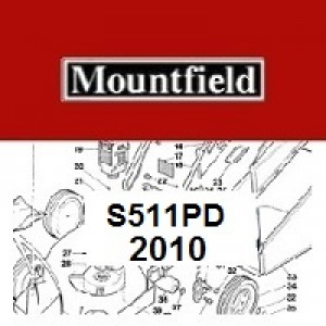Mountfield S511PD Spares Parts Diagrams S511 PD 2010