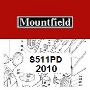 Mountfield S511PD Spares Parts Diagrams S511 PD 2010