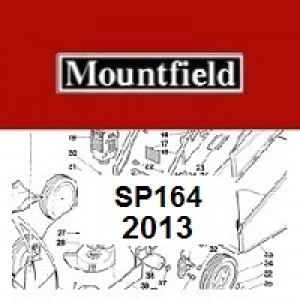 Mountfield SP164 Spares Parts Diagrams SP 164 SP 2013