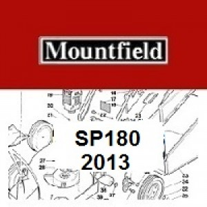 Mountfield SP180 Spares Parts Diagrams SP 180 SP 2013
