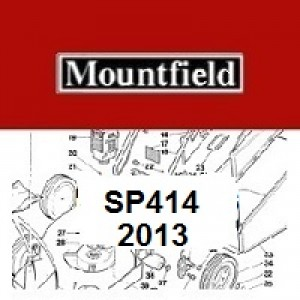 Mountfield SP414 Spares Parts Diagrams SP 414 SP 2013