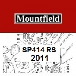 Mountfield SP414 Spares Parts Diagrams SP 414 SP RS100 2011
