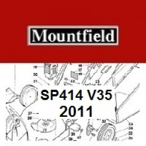 Mountfield SP414 Spares Parts Diagrams SP 414 SP V35 2011