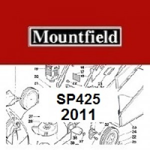 Mountfield SP425 Spares Parts Diagrams SP 425 SP 2011