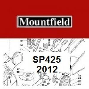 Mountfield SP425 Spares Parts Diagrams SP 425 SP 2012