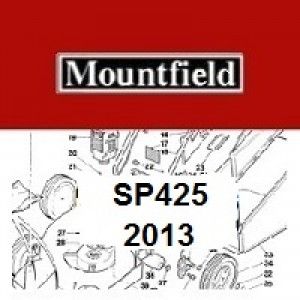 Mountfield SP425 Spares Parts Diagrams SP 425 SP 2013