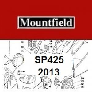 Mountfield SP425 Spares Parts Diagrams SP 425 SP 2013