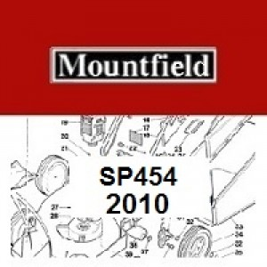 Mountfield SP454 Spares Parts Diagrams SP 454 SP  2010