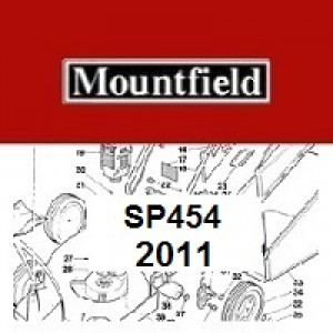 Mountfield SP454 Spares Parts Diagrams SP 454 SP 2011