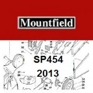 Mountfield SP454 Spares Parts Diagrams SP 454 SP 2013