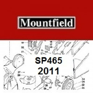 Mountfield SP465 Spares Parts Diagrams SP 465 SP 2011