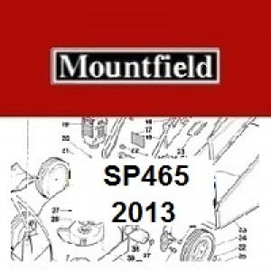 Mountfield SP465 Spares Parts Diagrams SP 465 SP 2013