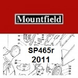 Mountfield SP465R Spares Parts Diagrams SP 465R SP 2011