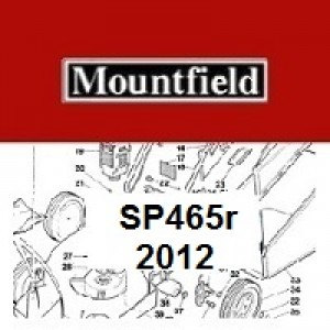 Mountfield SP465R Spares Parts Diagrams SP 465R SP 2012