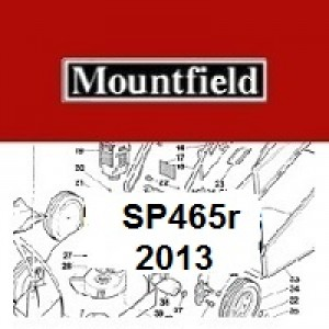 Mountfield SP465R Spares Parts Diagrams SP 465R SP 2013